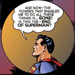 """Hade det inneburit slutet för Stålmannen om """"The K-Metal from Krypton"""" publicerats?"""