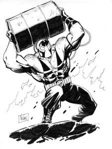 Bane tecknad av sin skapare Graham Nolan