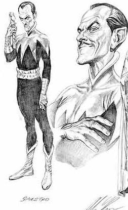 Sinestro tecknad av Alex Ross