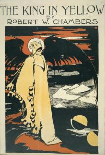Kungen i gult, illustrerad av Chambers själv.