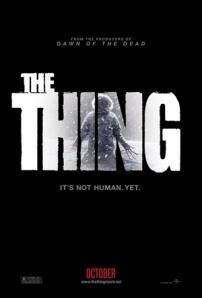 """Postern för """"The Thing"""" från 2011."""