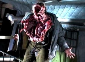En av de praktiska effekterna i 2011-filmen, som tyvärr ersattes med datoranimation i slutprodukten.