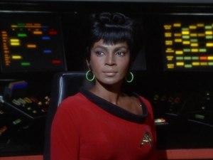 Nichelle Nichols som Uhura i originalserien.