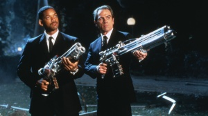 Agent J och Agent K i Men In Black.