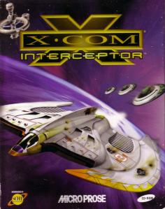 Det modiga X-COM-skeppet flyr från tre små mesiga UFO.