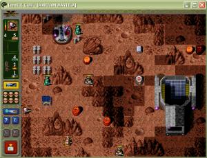Spela som utomjordingarna och försvara Mars!