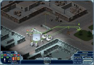 De gröna linjerna pekar ut var dina soldater ska gå.