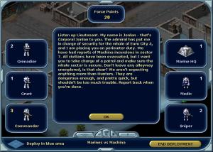 """Storyn som berättas av """"Jonlan"""", ett namn som fanns även i det gamla Laser Squad och i Rebelstar-spelen."""