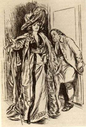 Marguerite i en bokillustration.